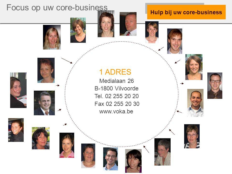 Hulp bij uw core-business