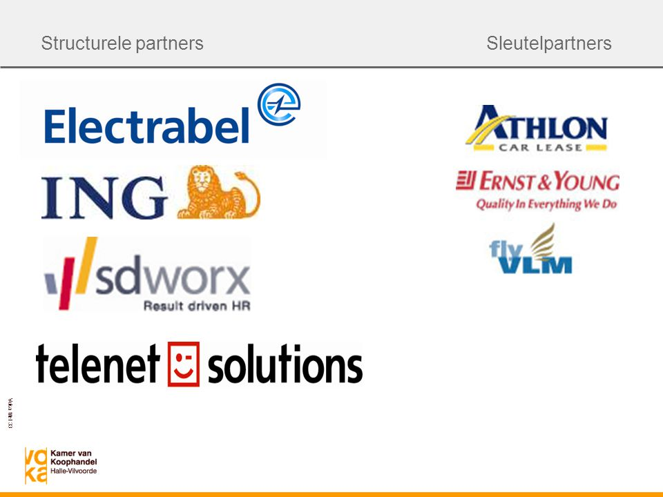 Structurele partners Sleutelpartners