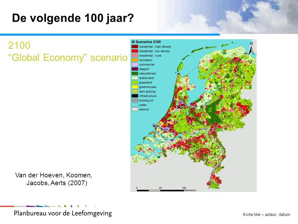 De volgende 100 jaar 2100 Global Economy scenario