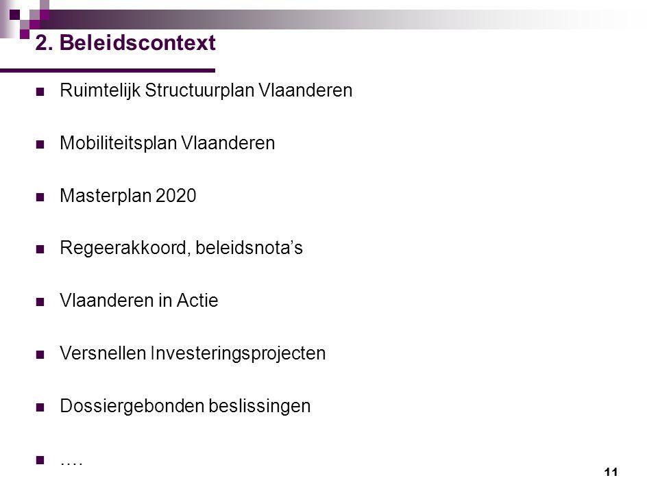 2. Beleidscontext Ruimtelijk Structuurplan Vlaanderen