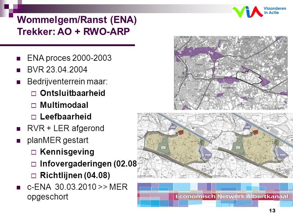 Wommelgem/Ranst (ENA) Trekker: AO + RWO-ARP
