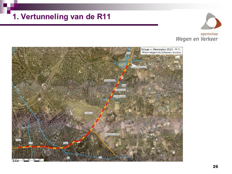 1. Vertunneling van de R11