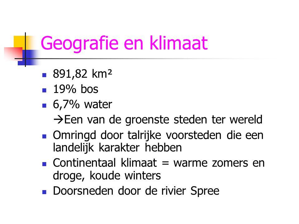 Geografie en klimaat 891,82 km² 19% bos 6,7% water