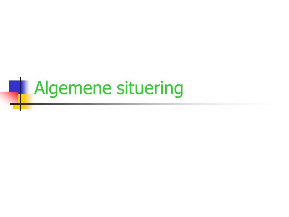 Algemene situering