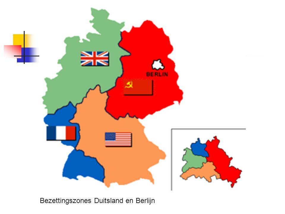 Bezettingszones Duitsland en Berlijn