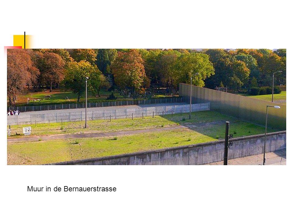 Muur in de Bernauerstrasse