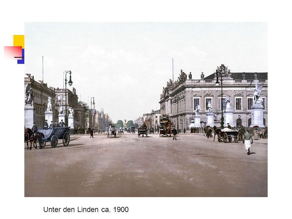 Unter den Linden ca. 1900