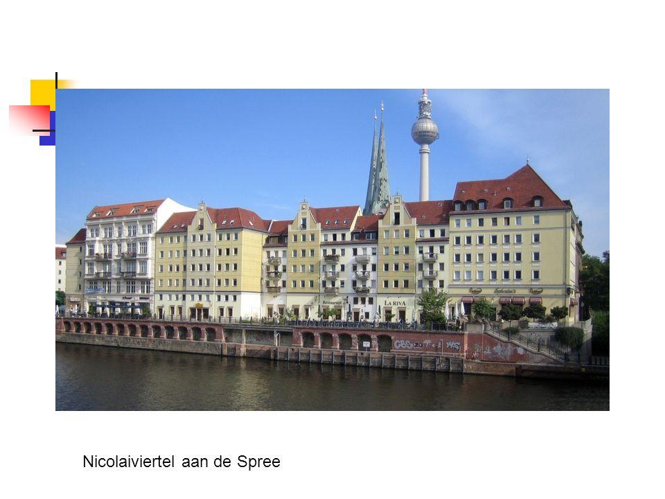 Nicolaiviertel aan de Spree
