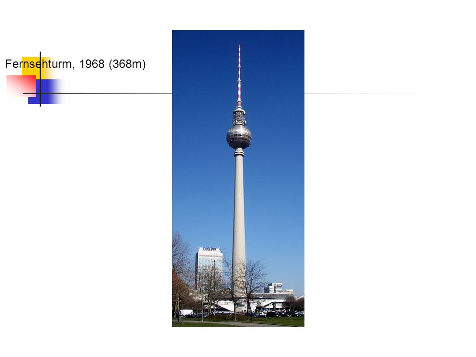 Fernsehturm, 1968 (368m)