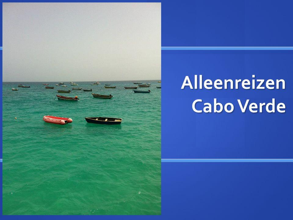 Alleenreizen Cabo Verde