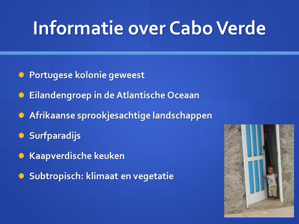 Informatie over Cabo Verde