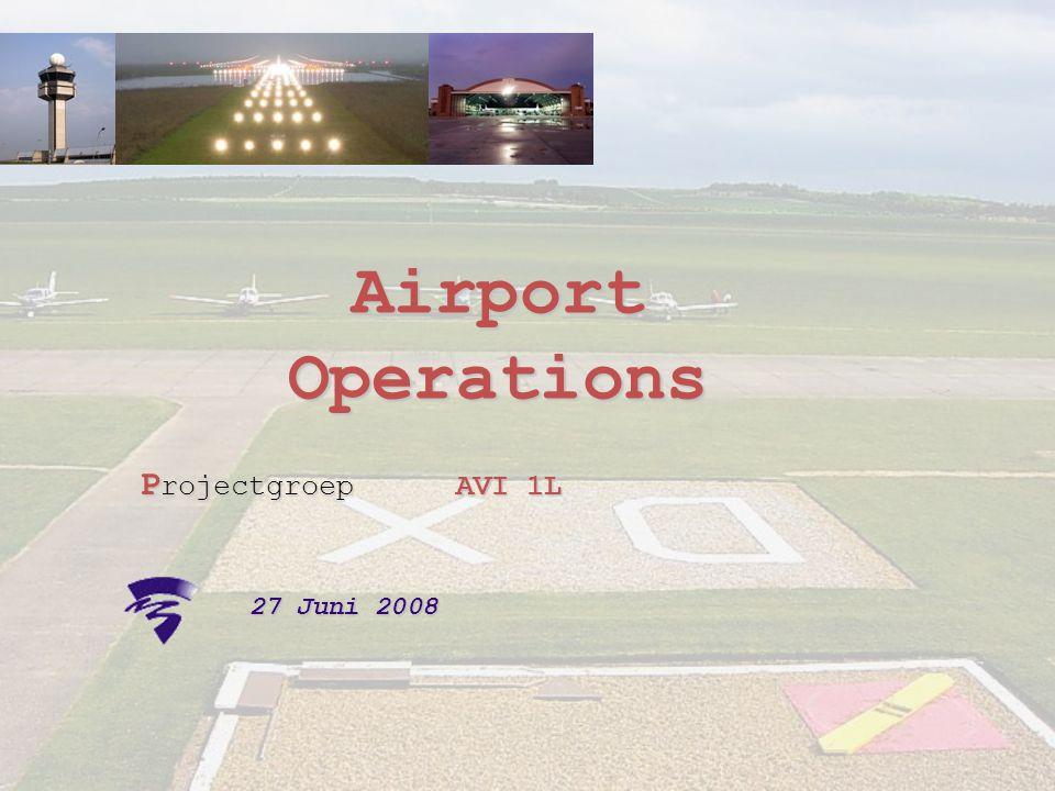 Airport Operations Projectgroep AVI 1L 27 Juni 2008