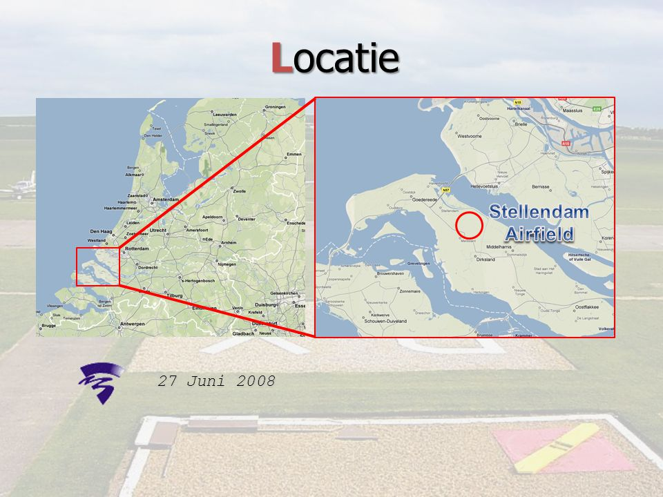 Locatie Stellendam Airfield 27 Juni 2008