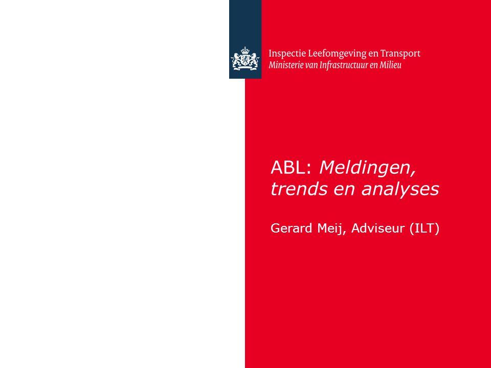 ABL: Meldingen, trends en analyses