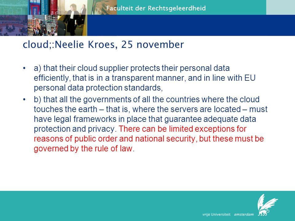 cloud;:Neelie Kroes, 25 november