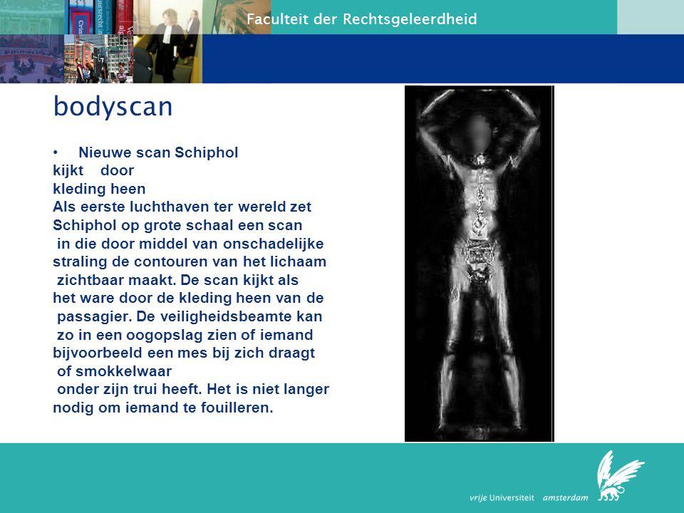 bodyscan Nieuwe scan Schiphol kijkt door kleding heen