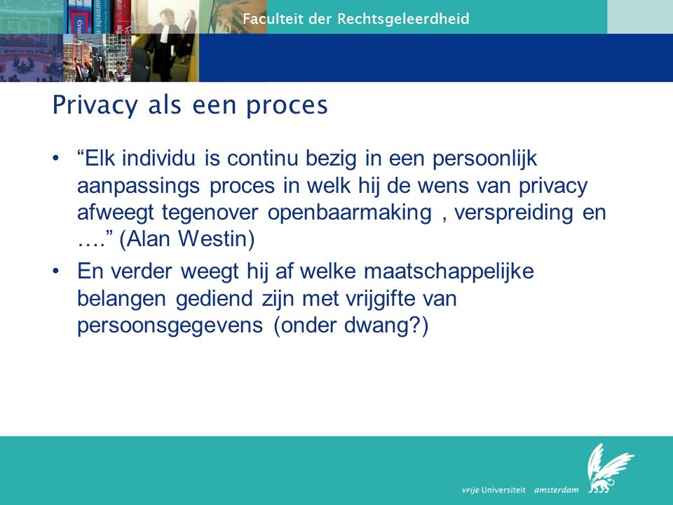 Privacy als een proces