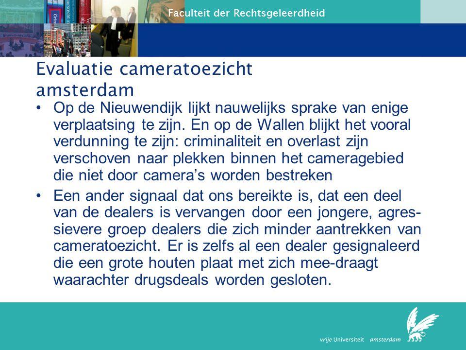 Evaluatie cameratoezicht amsterdam