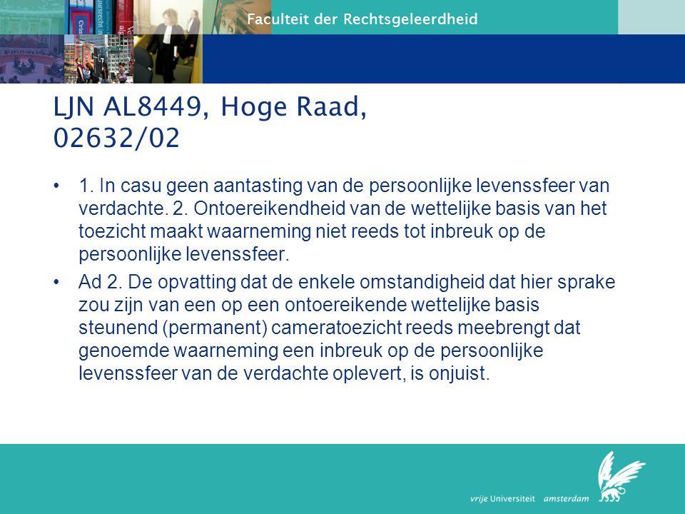 LJN AL8449, Hoge Raad, 02632/02