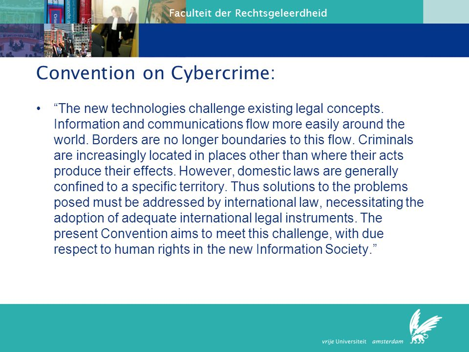 Convention on Cybercrime: