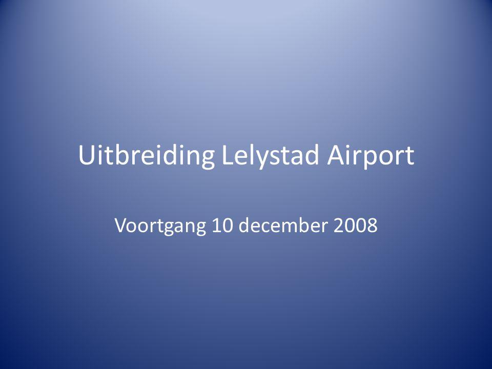 Uitbreiding Lelystad Airport