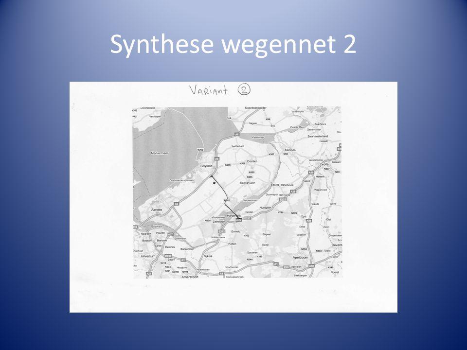 Synthese wegennet 2