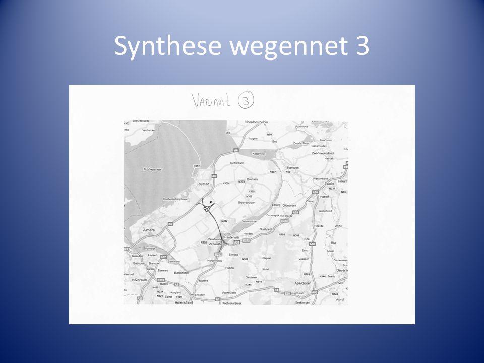 Synthese wegennet 3