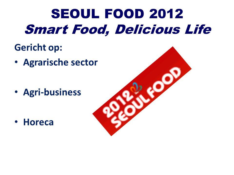 SEOUL FOOD 2012 Smart Food, Delicious Life