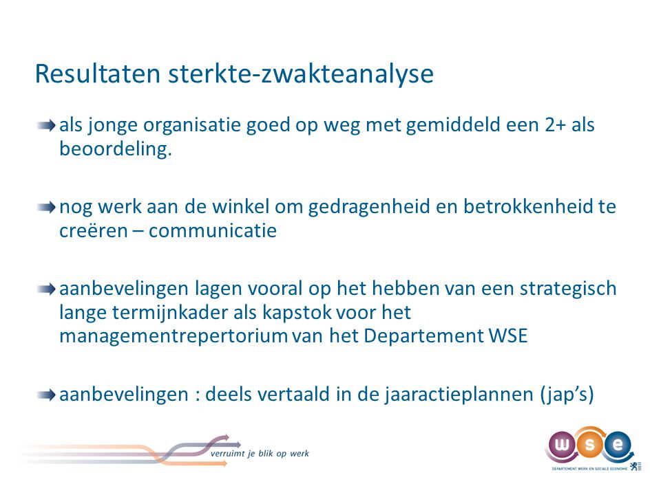 3de stap - Intern Controleplan - doel