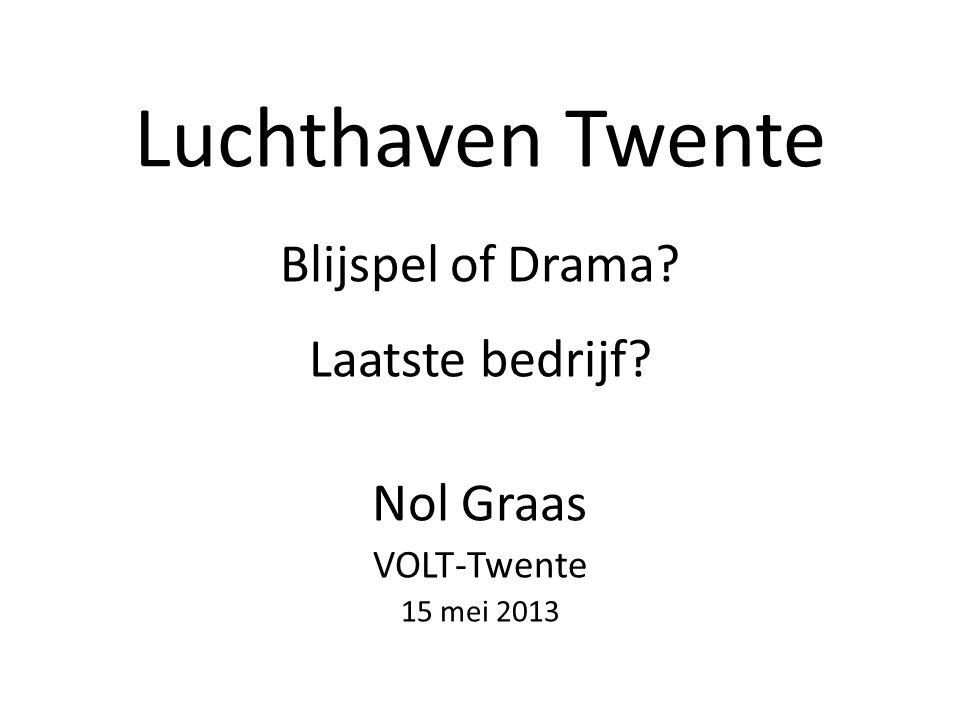 Blijspel of Drama Laatste bedrijf Nol Graas VOLT-Twente 15 mei 2013