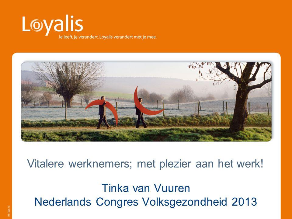 Tinka van Vuuren Nederlands Congres Volksgezondheid 2013