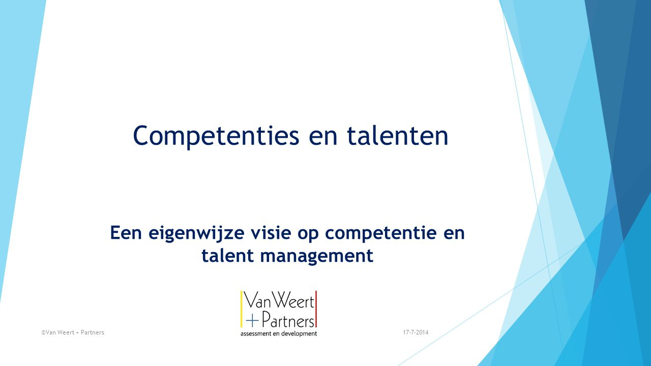 Competenties en talenten
