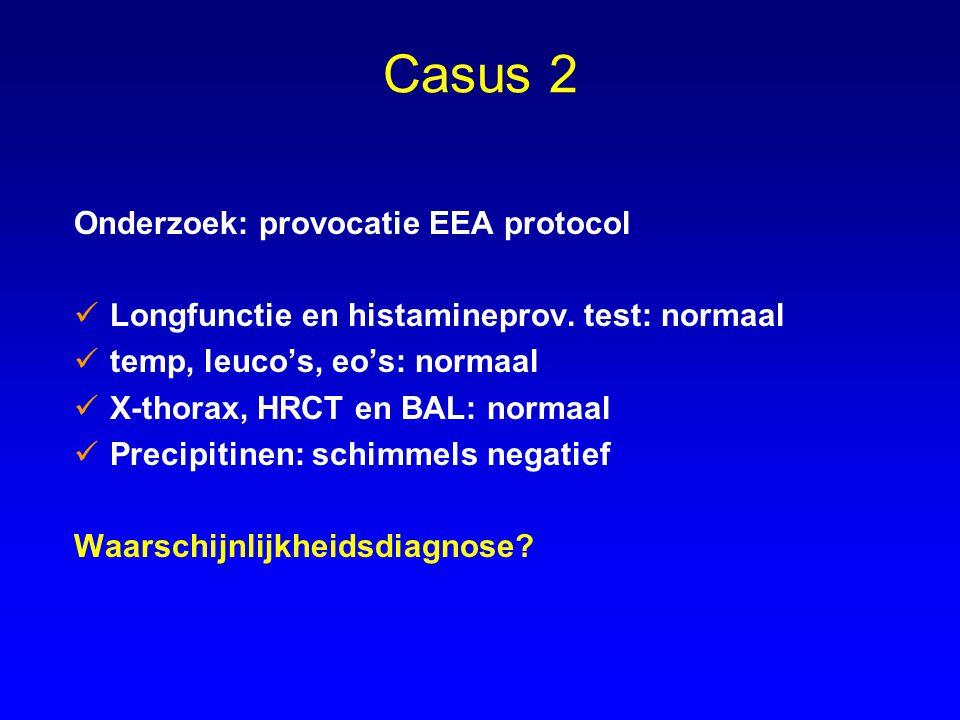 Casus 2 Onderzoek: provocatie EEA protocol