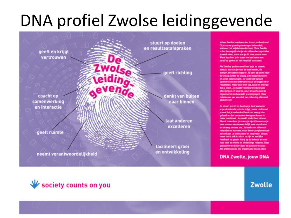 DNA profiel Zwolse leidinggevende