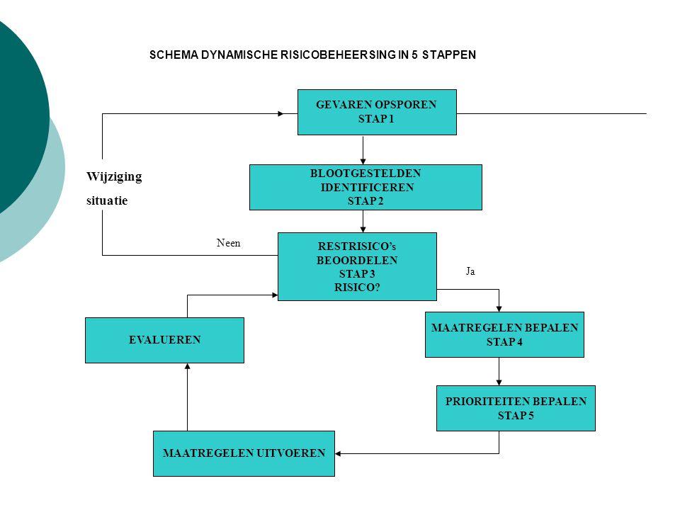 SCHEMA DYNAMISCHE RISICOBEHEERSING IN 5 STAPPEN