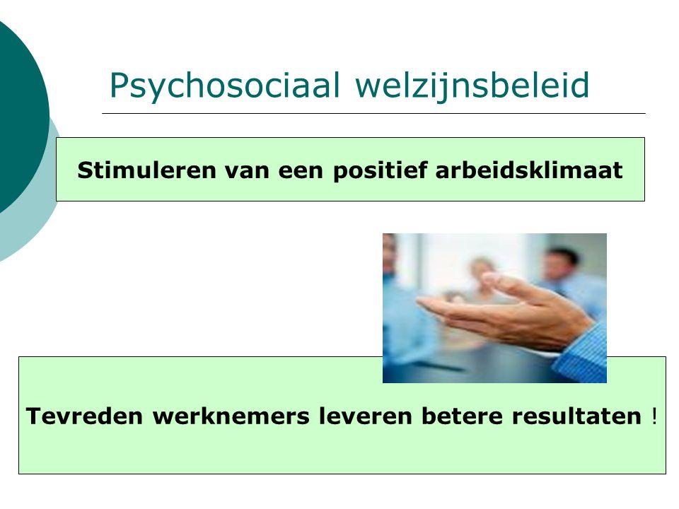 Psychosociaal welzijnsbeleid