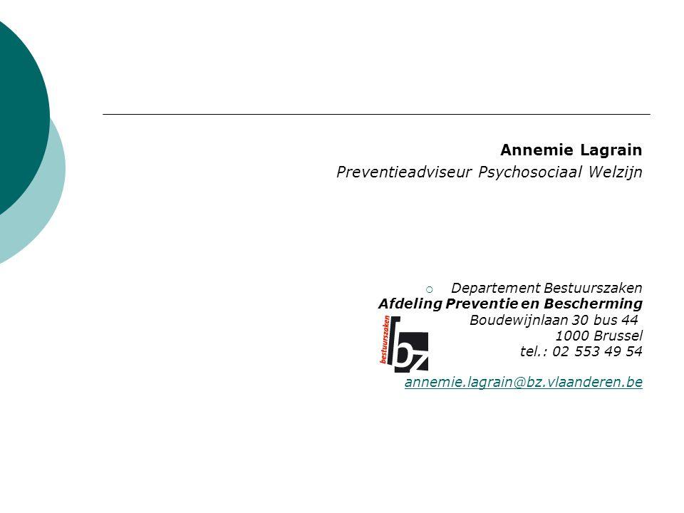 Preventieadviseur Psychosociaal Welzijn