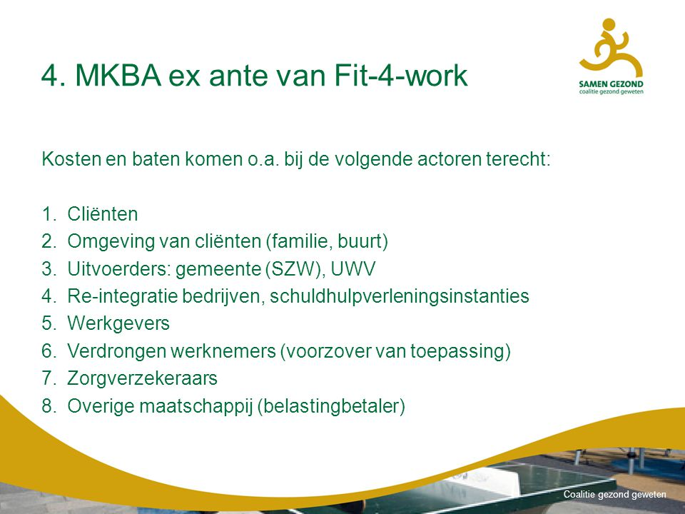 4. MKBA ex ante van Fit-4-work