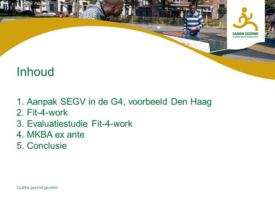 Inhoud Aanpak SEGV in de G4, voorbeeld Den Haag Fit-4-work