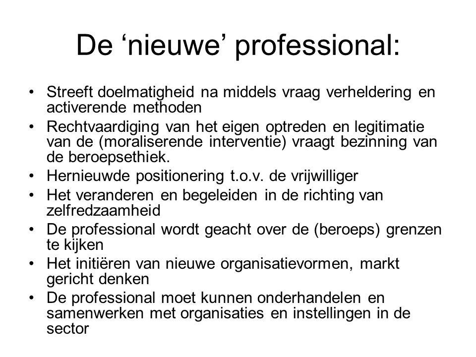 De 'nieuwe' professional: