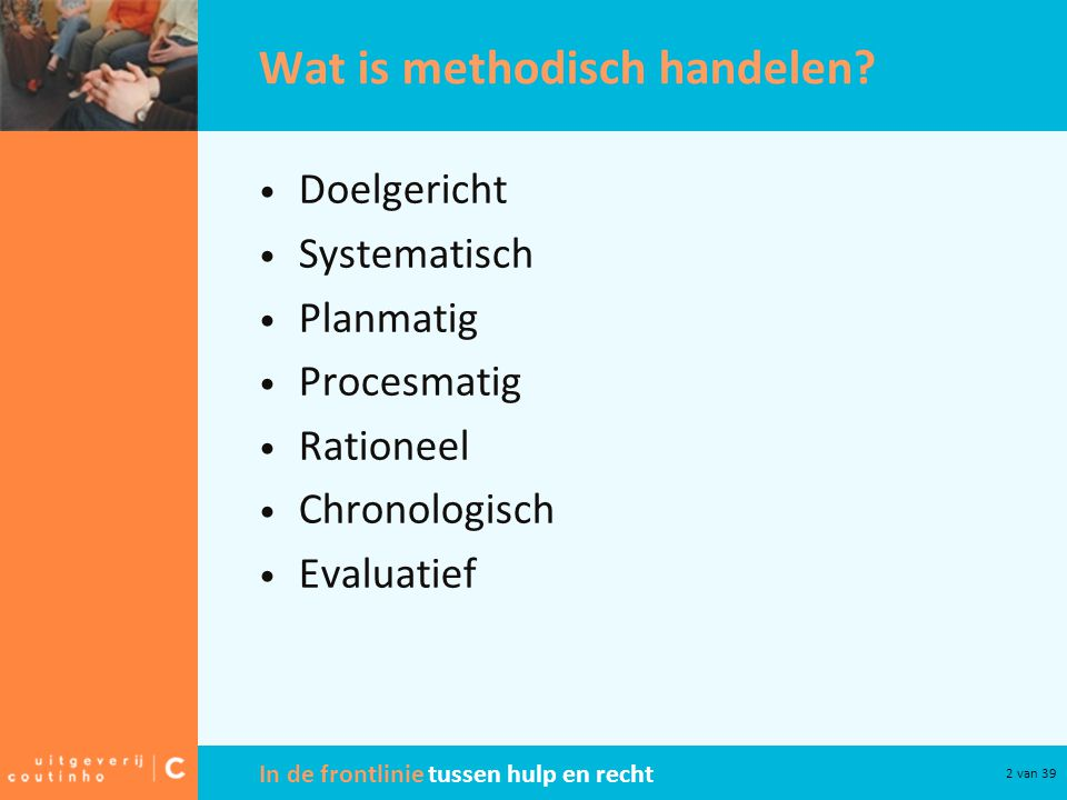 Wat is methodisch handelen