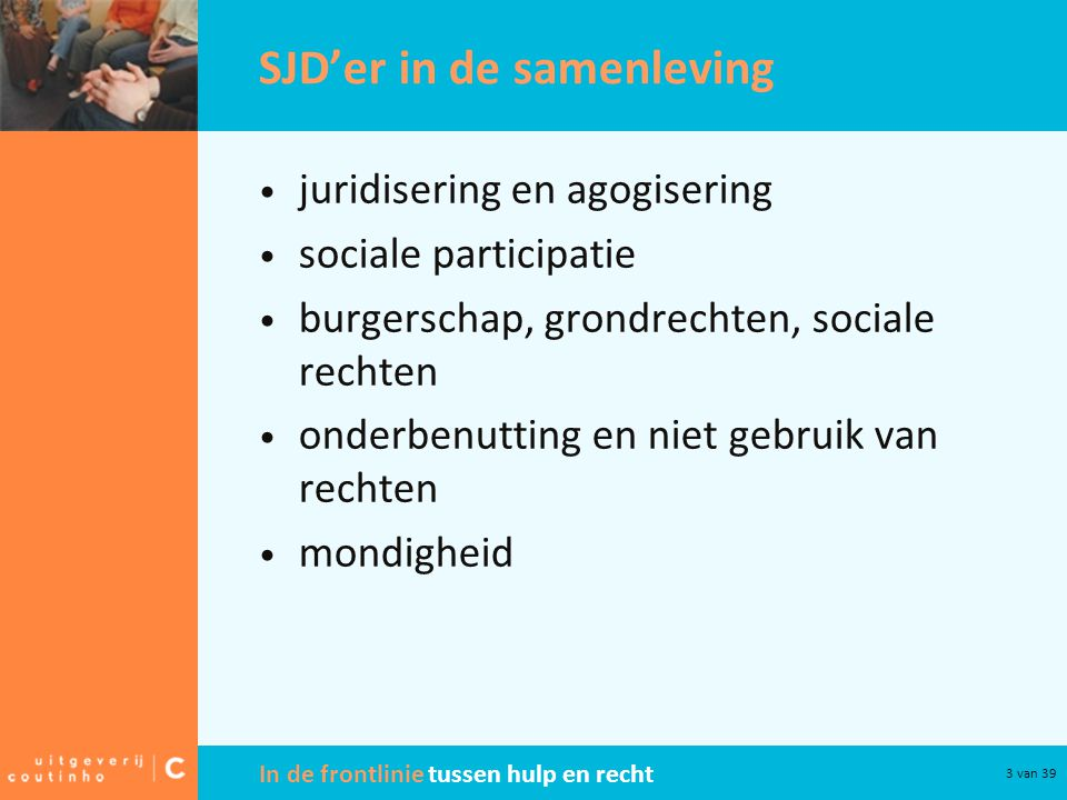 SJD'er in de samenleving
