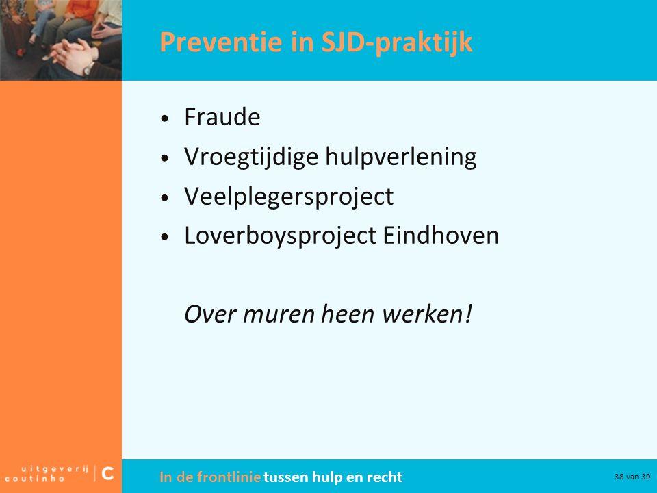 Preventie in SJD-praktijk