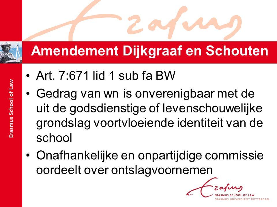 Amendement Dijkgraaf en Schouten