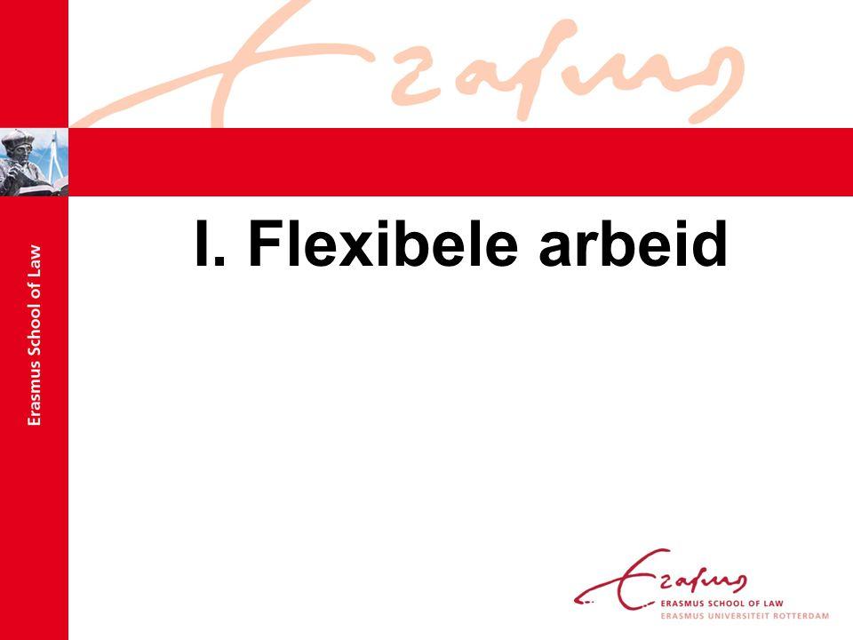 I. Flexibele arbeid