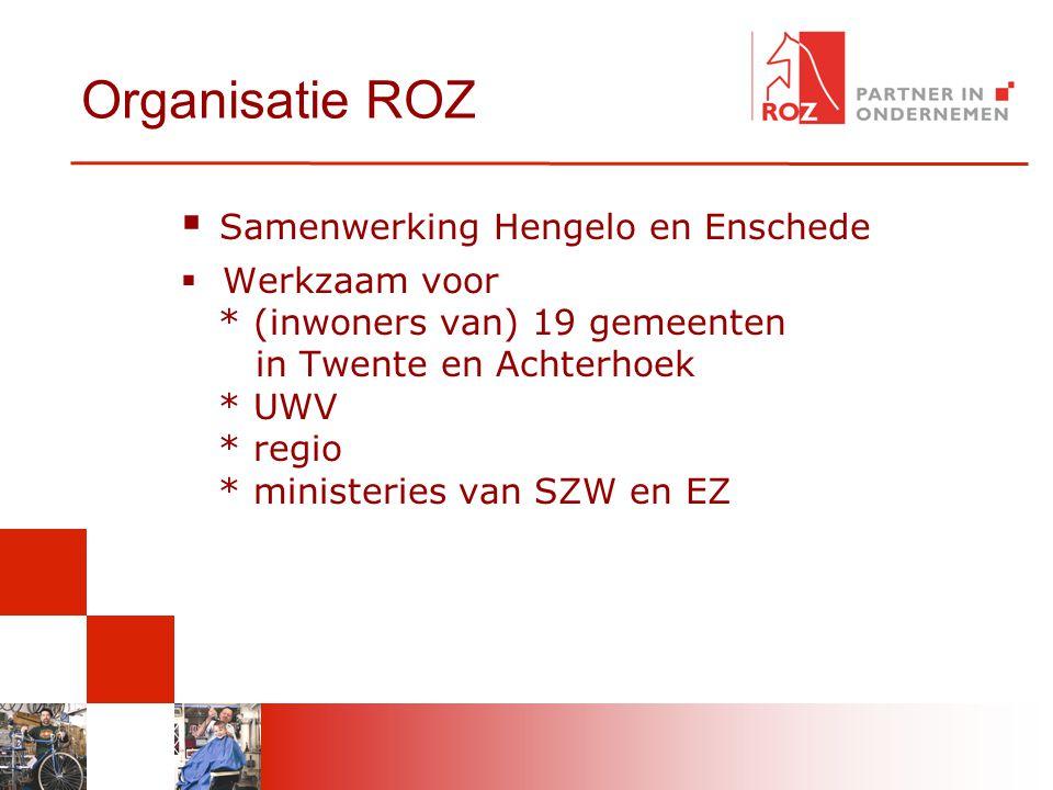 Organisatie ROZ Samenwerking Hengelo en Enschede