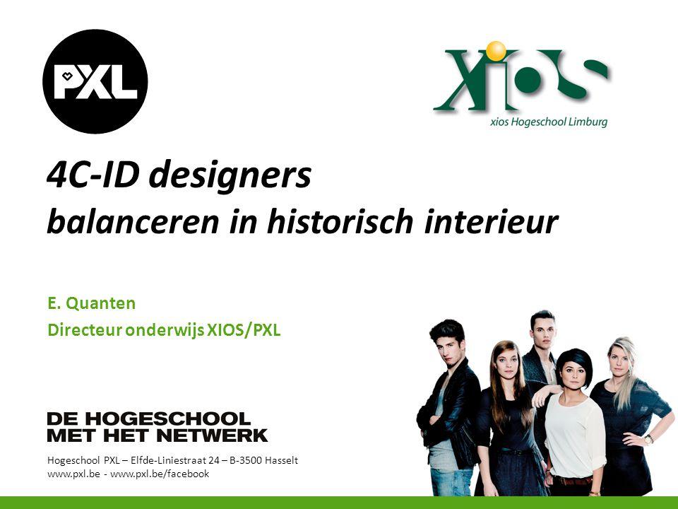 4C-ID designers balanceren in historisch interieur