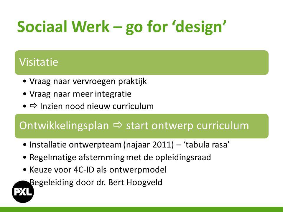 Sociaal Werk – go for 'design'