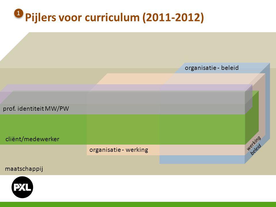 Pijlers voor curriculum (2011-2012)