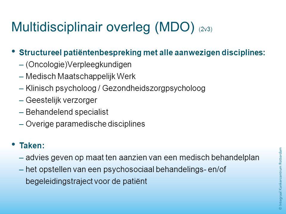 Multidisciplinair overleg (MDO) (2v3)